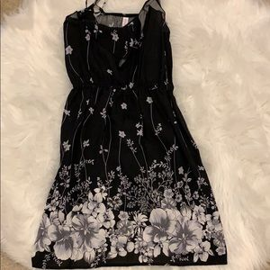 Xhilaration black summer dress xs